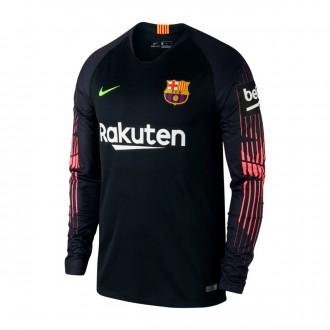 Jersey Nike Goalkeeper FC Barcelona Stadium 2018-2019 Black-Volt. Nike.  Goalkeeper FC Barcelona Stadium 2018-2019 Green strike-Green spark-Black 5f1e9477f4a31