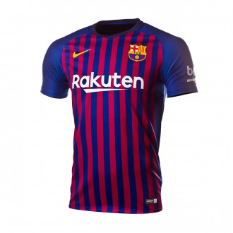 Camiseta  Nike FC Barcelona Primera Equipación 2018-2019 Deep royal blue-University gold