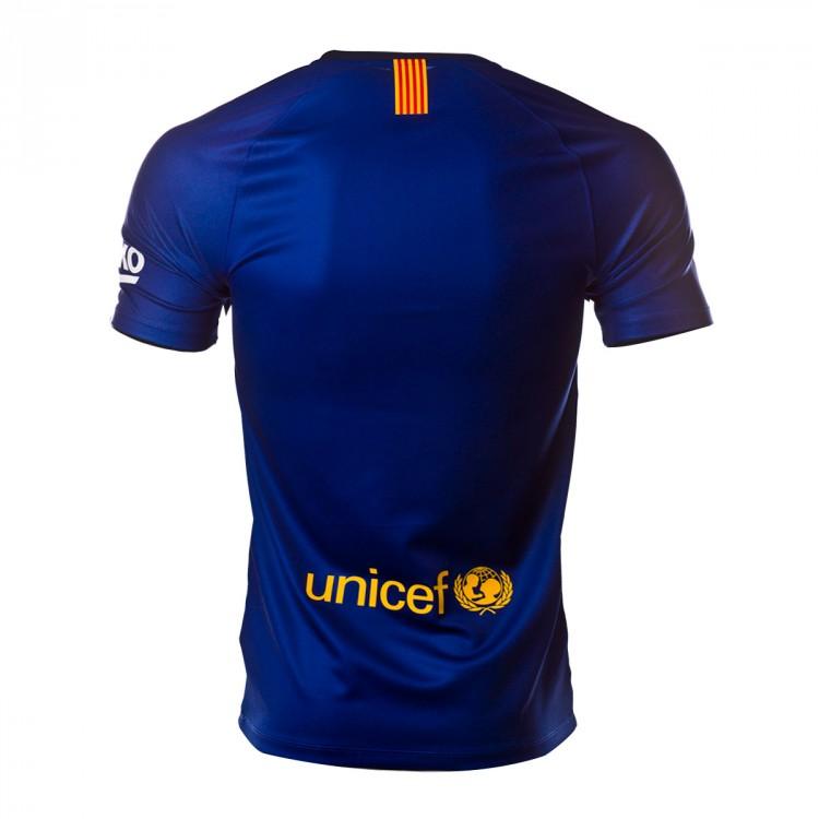 Camiseta Nike FC Barcelona Primera Equipación 2018-2019 Deep royal ... b22552087720a