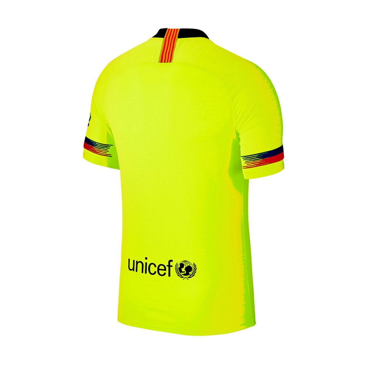 the latest 9e300 dc647 Camiseta FC Barcelona Vapor Match Segunda Equipación 2018-2019 Volt-Deep  royal blue