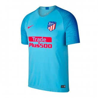 Camiseta  Nike Atletico de Madrid Segunda Equipación 2018-2019 Blue gale-Blue nebula-Bright crimson