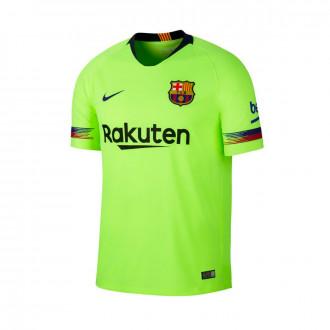 Camiseta  Nike FC Barcelona Stadium Segunda Equipación 2018-2019 Volt-Deep royal blue