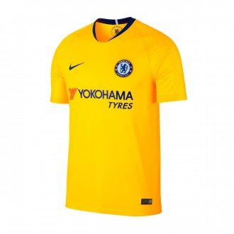 Jersey  Nike Chelsea FC Stadium 2018-2019 Away Tour yellow-Rush blue