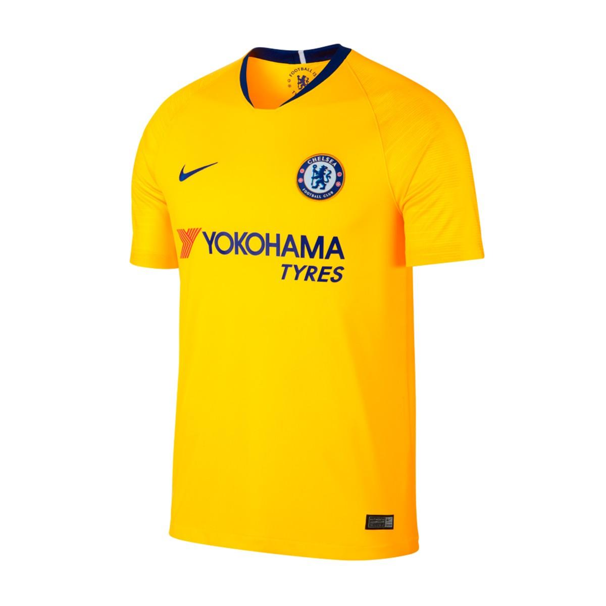 newest cd1ff d5f04 Camiseta Chelsea FC Stadium Segunda Equipación 2018-2019 Tour yellow-Rush  blue