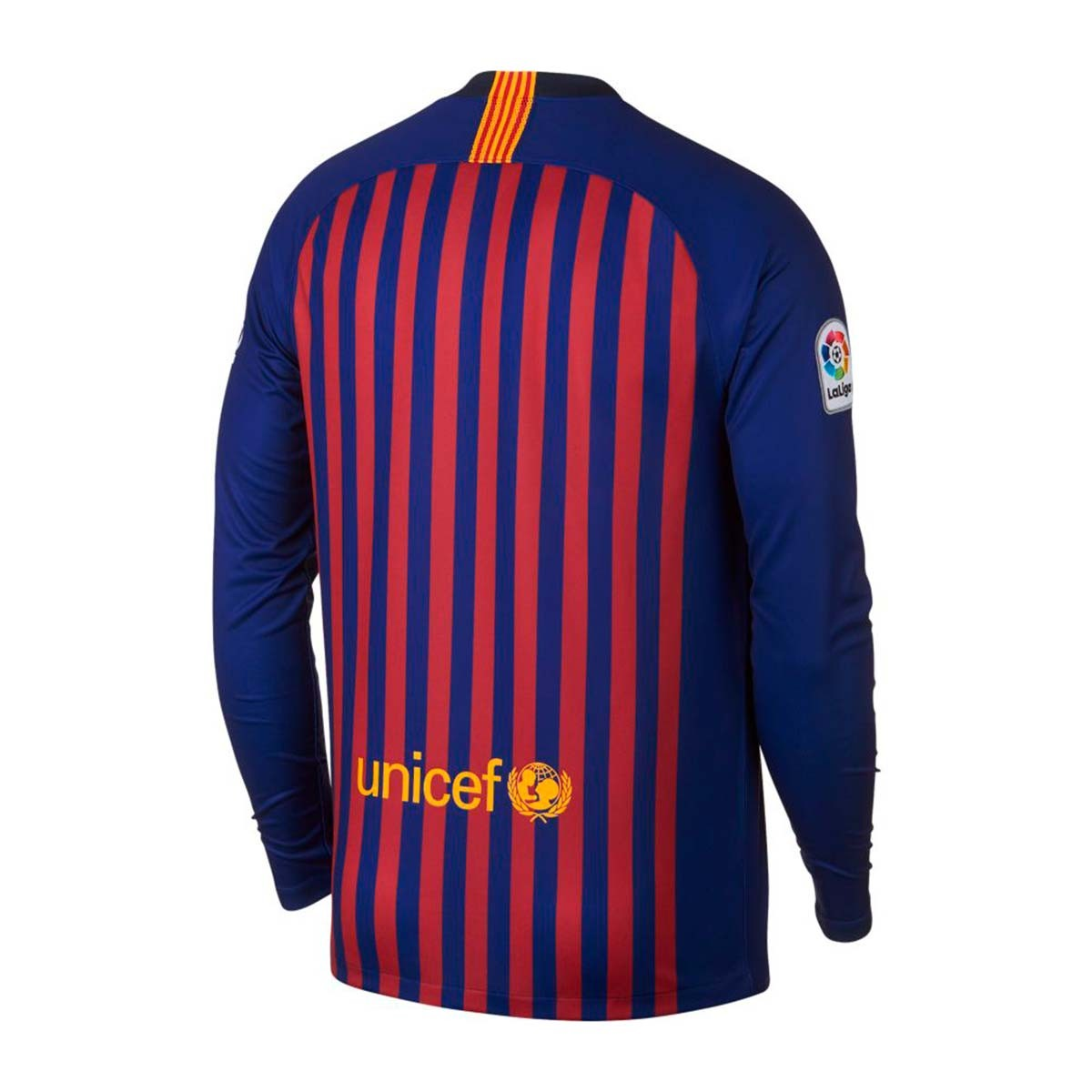 45532bface9 Jersey Nike FC Barcelona Stadium L/S 2018-2019 Home Deep royal blue ...