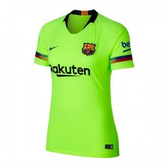 Camiseta  Nike FC Barcelona Stadium Segunda Equipación 2018-2019 Mujer Volt-Deep royal blue