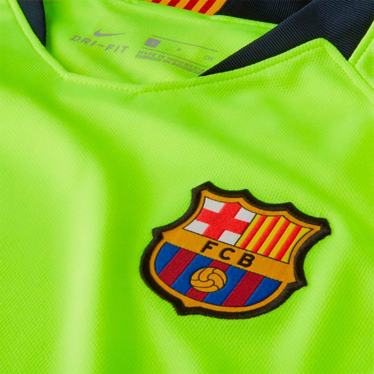 5dcaf74e84a04 Camiseta Nike FC Barcelona Stadium Segunda Equipación 2018-2019 Mujer  Volt-Deep royal blue - Tienda de fútbol Fútbol Emotion