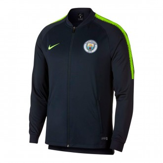 Casaco  Nike Manchester City FC Dry Squad Dark obsidian-Volt