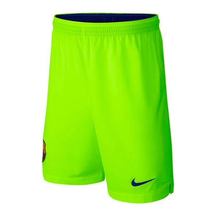 Shorts Nike FC Barcelona Stadium 2018-2019 Away Volt-Deep royal blue ... e4861d87b0f75