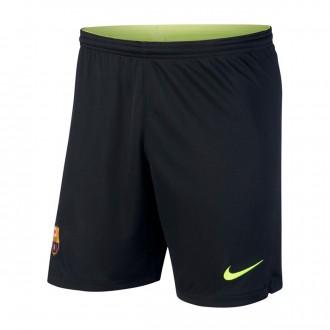 Shorts  Nike Goalkeeper FC Barcelona Stadium 2018-2019 Home Black-Volt