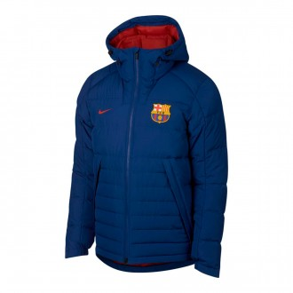 Sudadera  Nike Sportswear FC Barcelona 2018-2019 Deep royal blue-Noble red