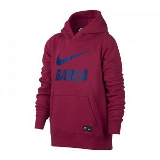Sudadera  Nike Sportswear FC Barcelona Noble red-Deep royal blue