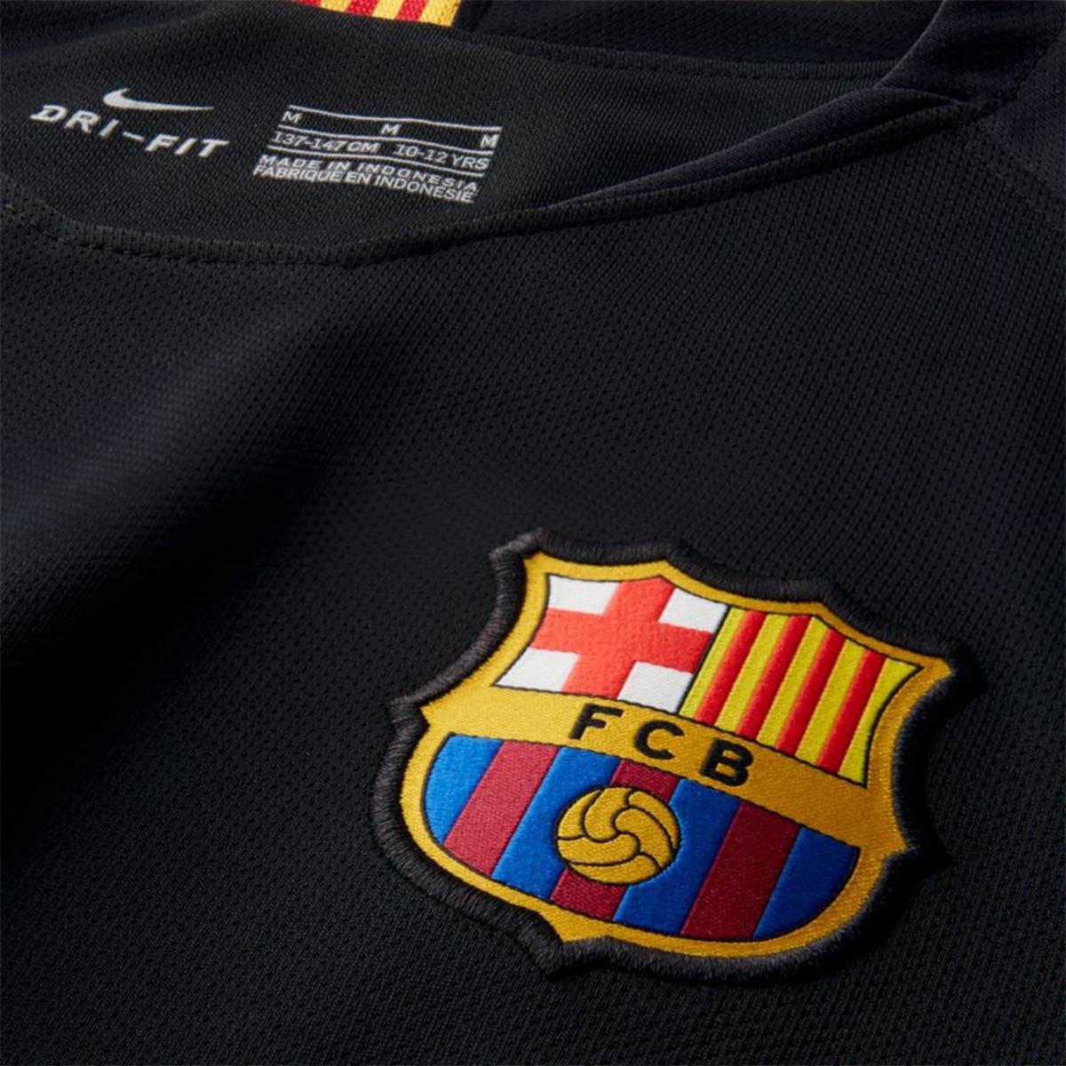 Camiseta Nike FC Barcelona Stadium Portero 2018-2019 Niño Black-Volt -  Soloporteros es ahora Fútbol Emotion ce137f1281cfd