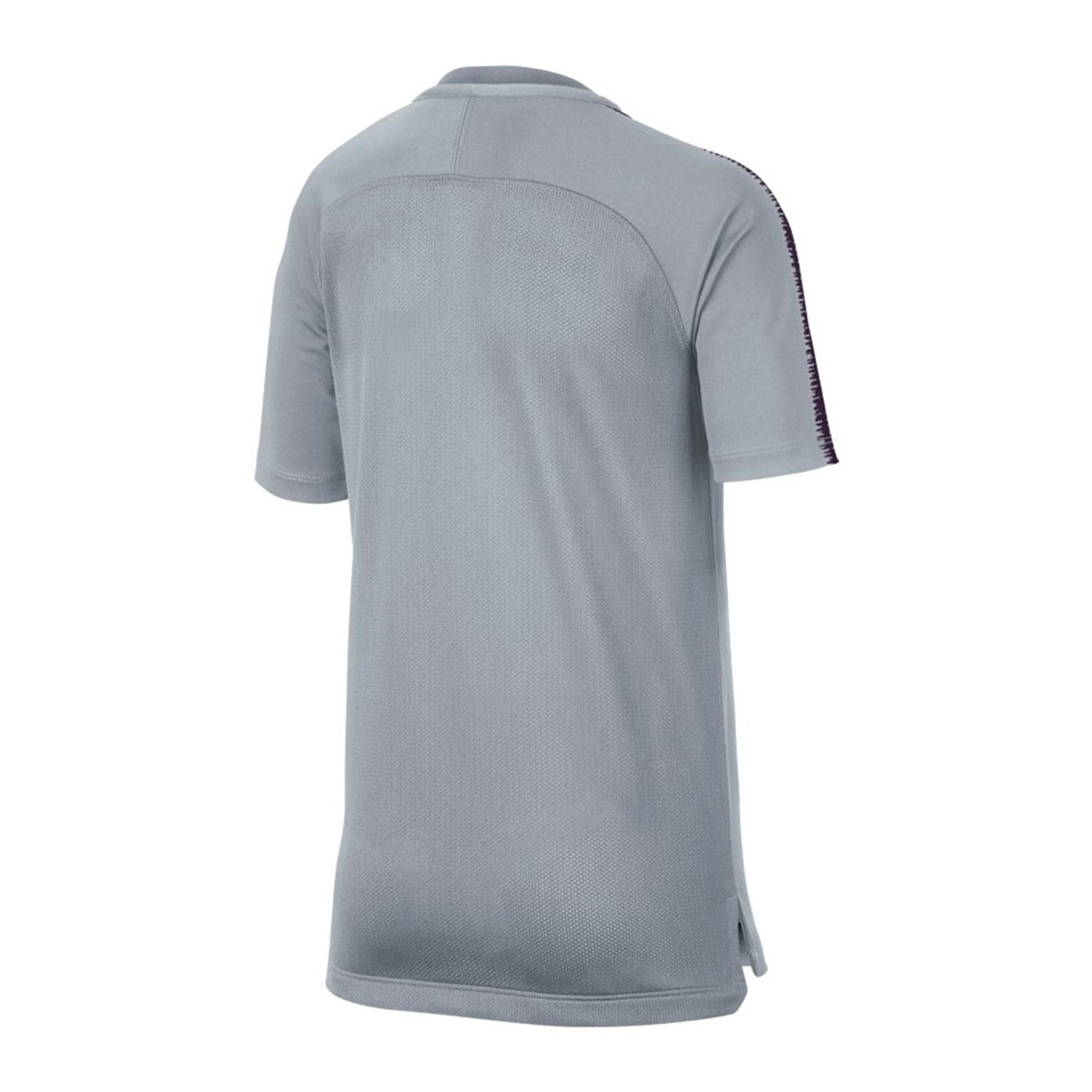 0d1c284f30d25 Camiseta Nike FC Barcelona Squad 2018-2019 Niño Wolf grey-Purple dynasty -  Tienda de fútbol Fútbol Emotion