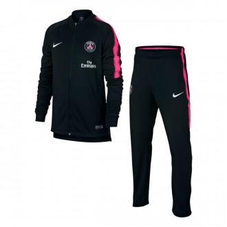 Tuta  Nike Paris Saint-Germain Squad 2018-2019 Junior Black-Hyper pink-White