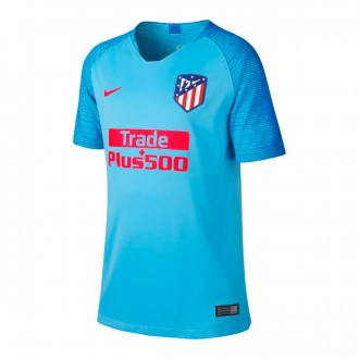 Camiseta  Nike Atletico de Madrid Stadium Segunda Equipación 2018-2019 Niño Blue gale-Blue nebula-Bright crimson