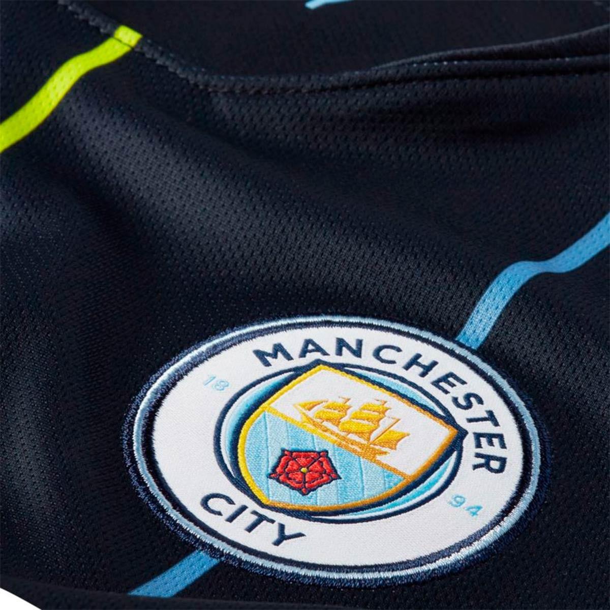 6bb13e23c0 Jersey Nike Kids Manchester City FC Stadium 2018-2019 Away Dark  obsidian-White - Football store Fútbol Emotion