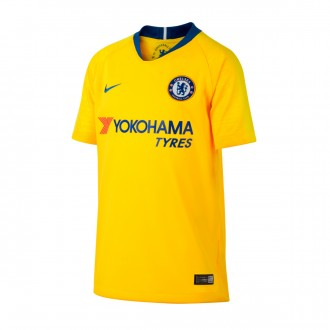 Jersey  Nike Kids Chelsea FC Stadium 2018-2019 Away Tour yellow-Rush blue