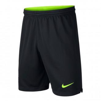 Shorts  Nike Kids Goalkeeper FC Barcelona Stadium 2018-2019 Home Black-Volt