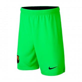 Shorts  Nike Kids Goalkeeper FC Barcelona Stadium 2018-2019 Home Green strike-Black