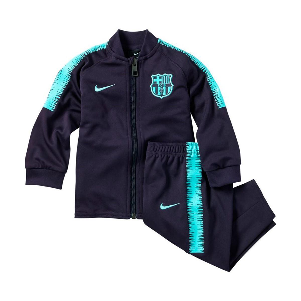 8b793e84e05c1e Tuta Nike Bebé Dry FC Barcellona Squad 2018-2019 Purple dynasty-Hyper  turquoise - Negozio di calcio Fútbol Emotion