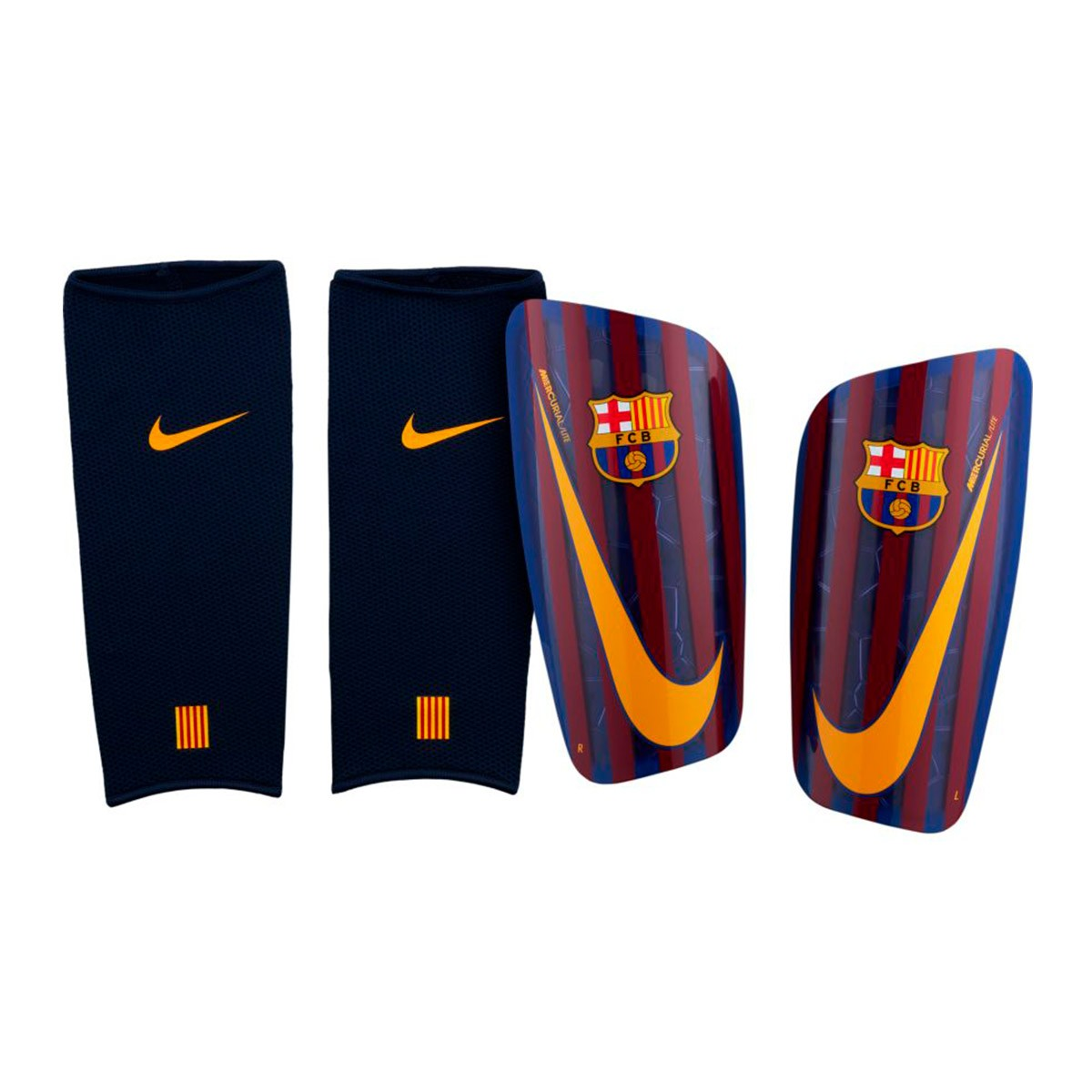1b5f8b27 Shinpads Nike FC Barcelona Mercurial Lite 2018-2019 Deep royal blue ...