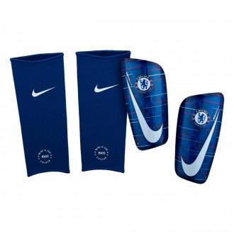 Caneleira  Nike Chelsea FC Mercurial Lite 2018-2019 Rush blue-White