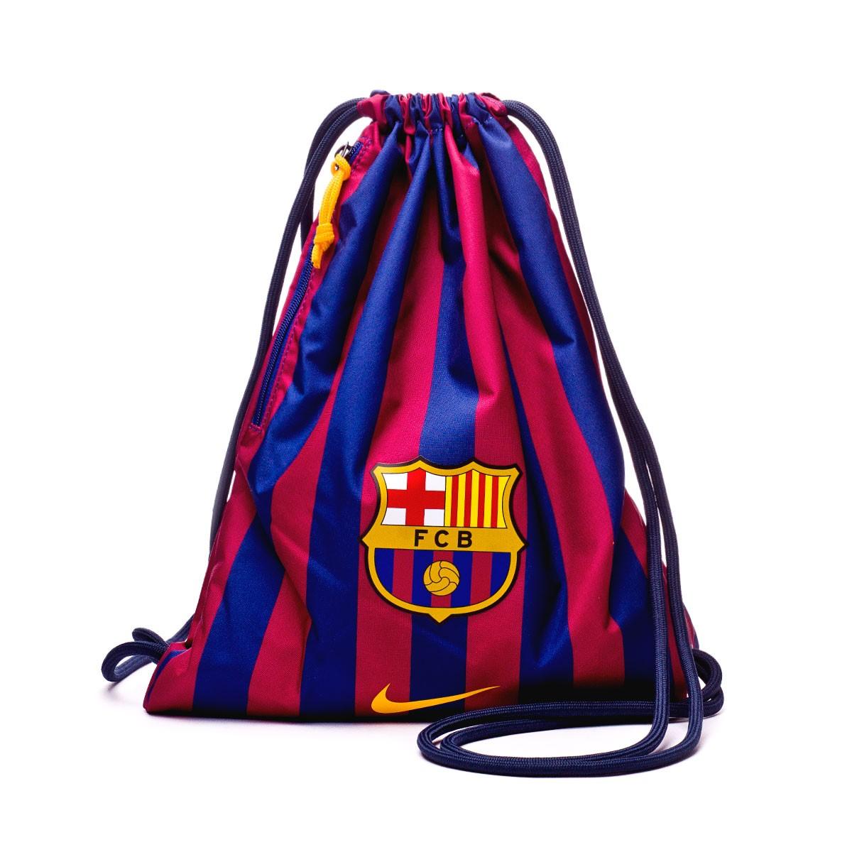 9f6023d46b8 Backpack Nike FC Barcelona Stadium Football GymSack Deep royal blue-Obsidian -University gold - Football store Fútbol Emotion