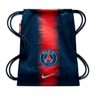 Mochila  Nike Paris Saint-Germain Stadium Football Gym Sack Midnight Navy-Midnight Navy-White