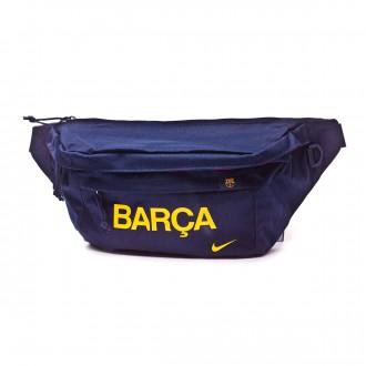 Nike FC Barcelona Stadium Tech Fanny Pack Obsidian-University gold