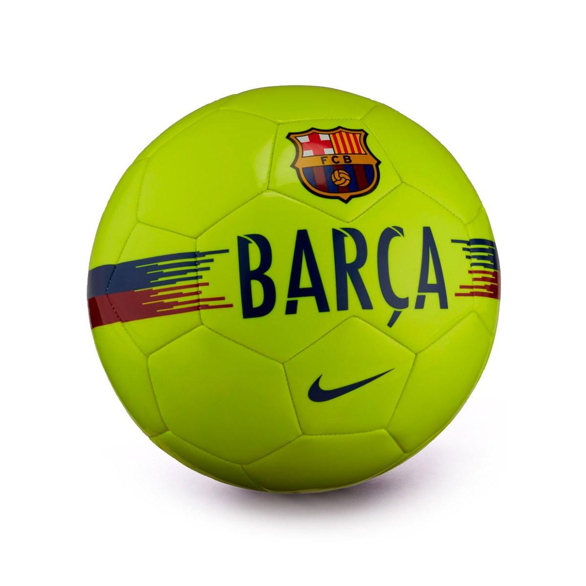 Balón Nike FC Barcelona Supporters 2018-2019 Volt-Noble red-Deep royal blue  - Soloporteros es ahora Fútbol Emotion ea7c195ebe4