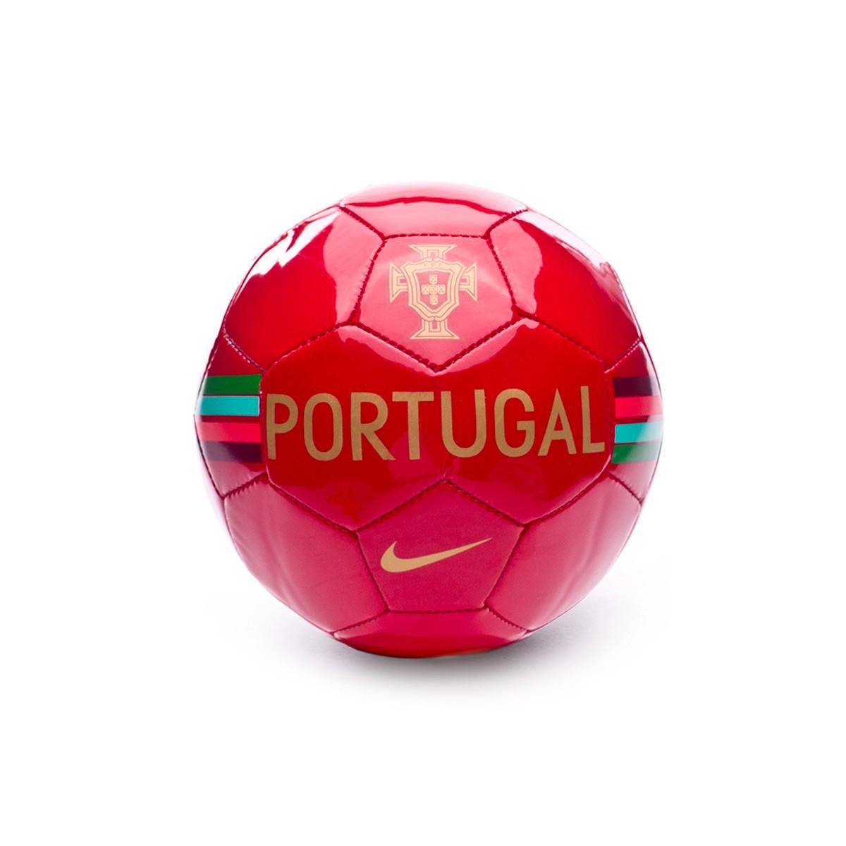 Balón Nike Mini Portugal Skills 2018-2019 Gym red-Metallic gold ... b12aaed443424