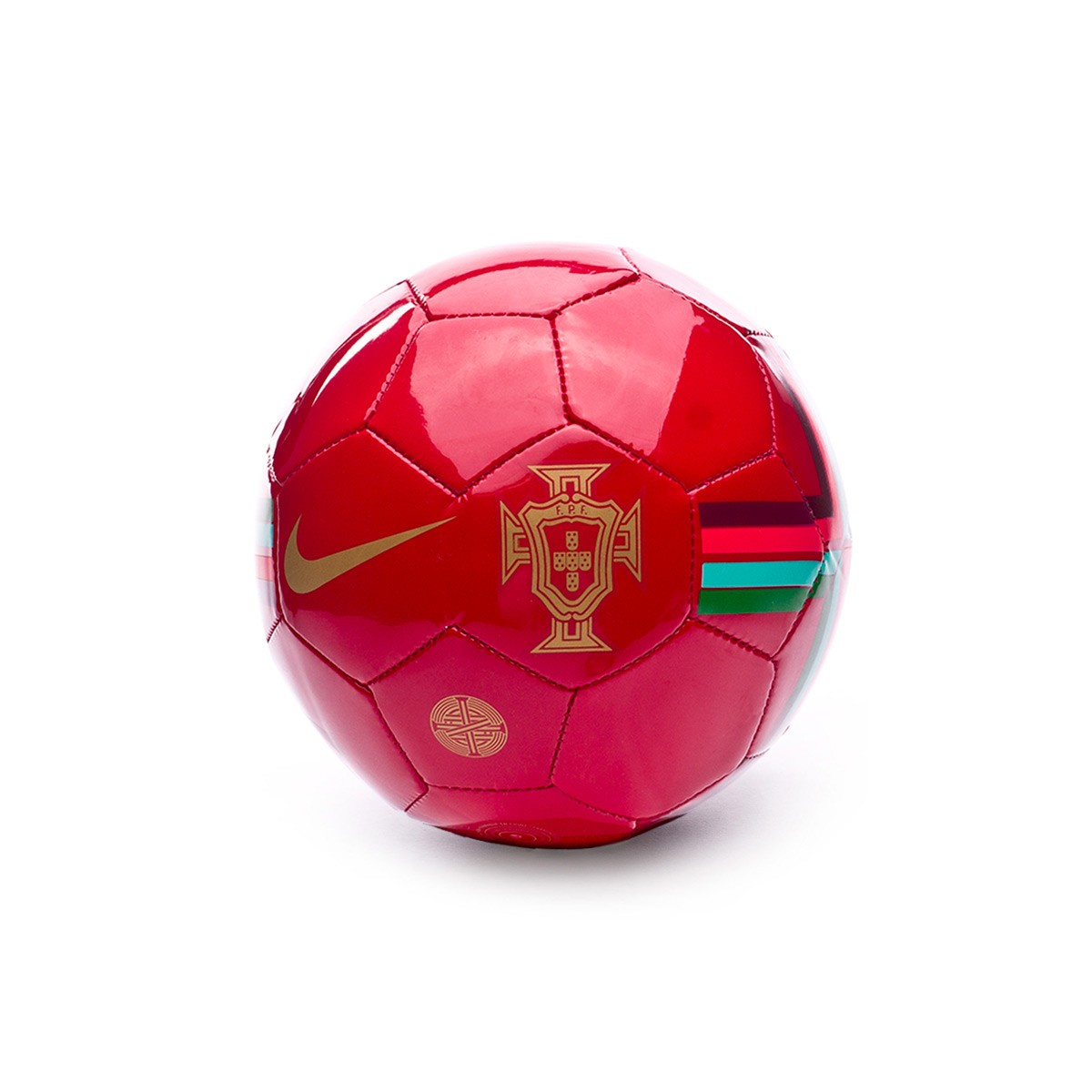 Ball Nike Mini Portugal Skills 2018-2019 Gym red-Metallic gold ... d9ed9a77d3a1f