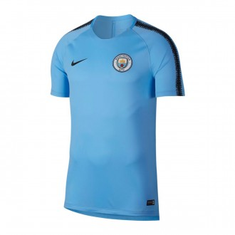 Camisola  Nike Manchester City FC Squad 2018-2019 Field blue-Dark Obsidian