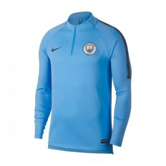 Sudadera  Nike Manchester City FC Squad2018-2019 Field blue-Dark Obsidian