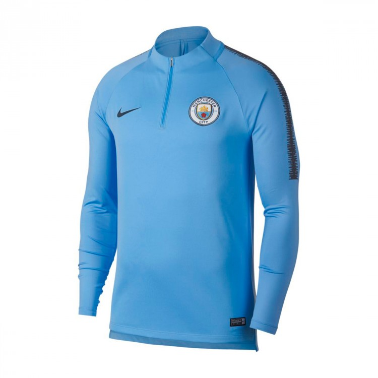 fa6777d14 Sweatshirt Nike Manchester City FC Squad2018-2019 Field blue-Dark ...
