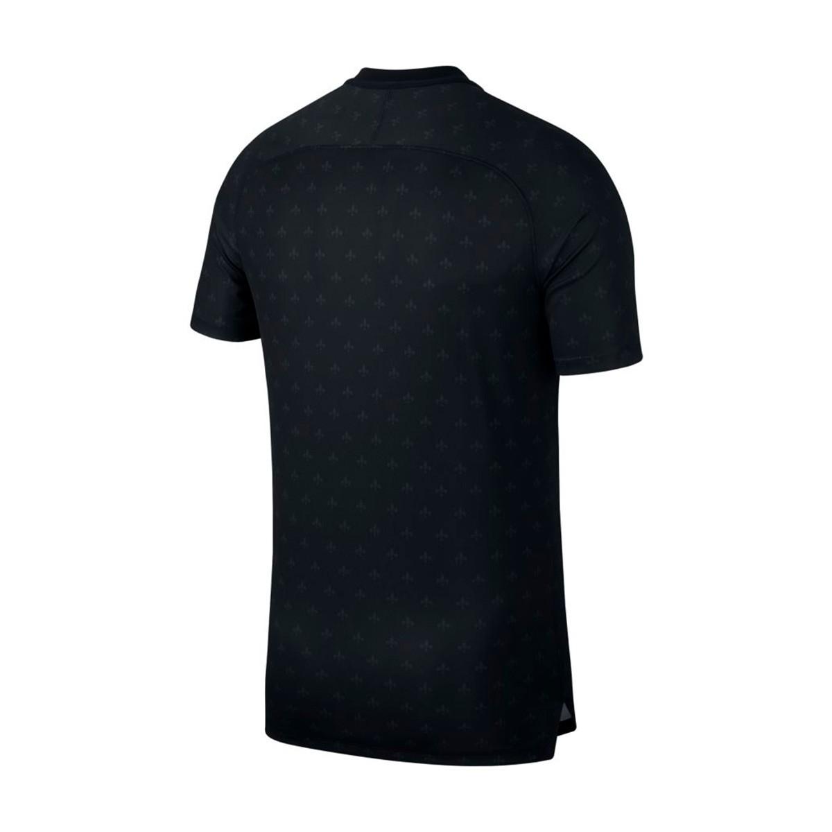 new products c10fd be7f6 Camiseta Paris Saint-Germain Squad 2018-2019 Black-Truly gold