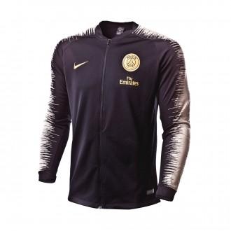 Chaqueta  Nike Paris Saint-Germain 2018-2019 Black-Light bone-Truly gold
