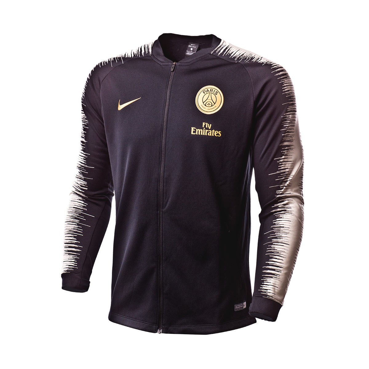 115cbb86bc3 Casaco Nike Paris Saint-Germain 2018-2019 Black-Light bone-Truly gold -  Loja de futebol Fútbol Emotion