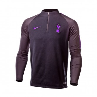 Sudadera  Nike Tottenham Hotspur FC Squad 2018-2019 Black-Hyper grape