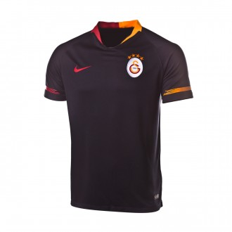 Jersey  Nike Galatasaray Stadium 2018-2019 Away Black-Pepper red