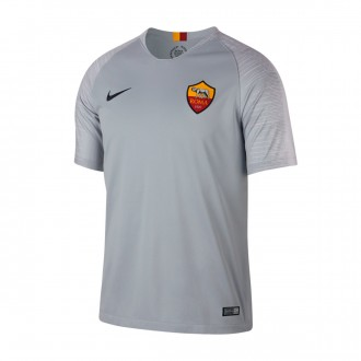 Camiseta  Nike AS Roma Stadium Segunda Equipación 2018-2019 Wolf grey-Black