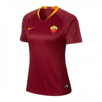 Camiseta  Nike AS Roma Stadium Primera Equipación 2018-2019 Mujer Team red-University gold