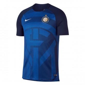 Camiseta  Nike Inter Milán Milan Squad 2018-2019 Game royal-Obsidian-White