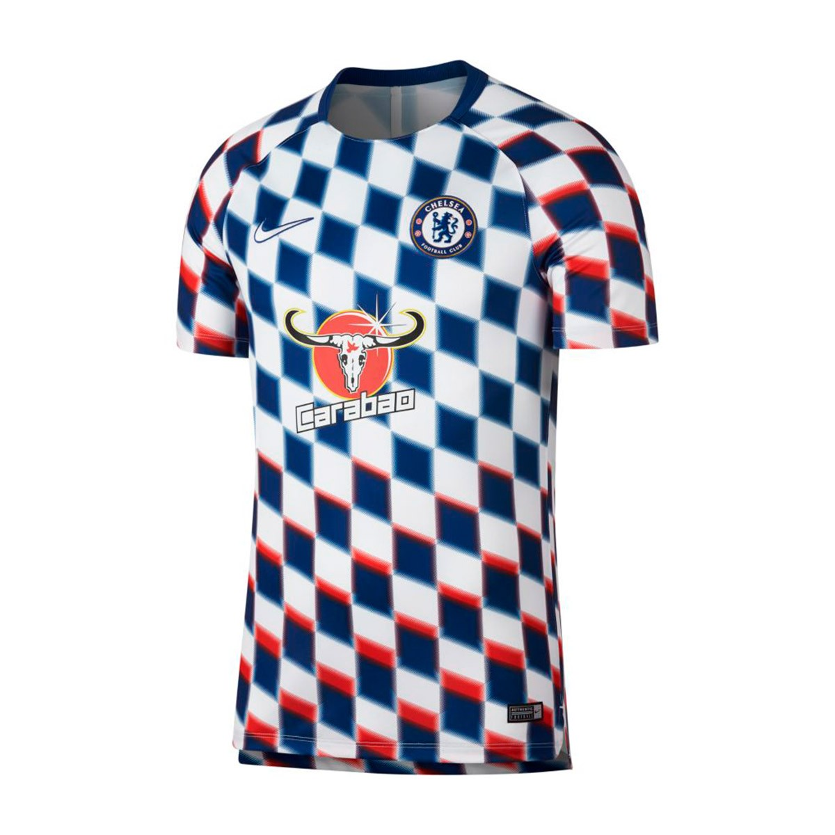 122953c091 Jersey Nike Chelsea FC Squad 2018-2019 White-Rush blue-White ...