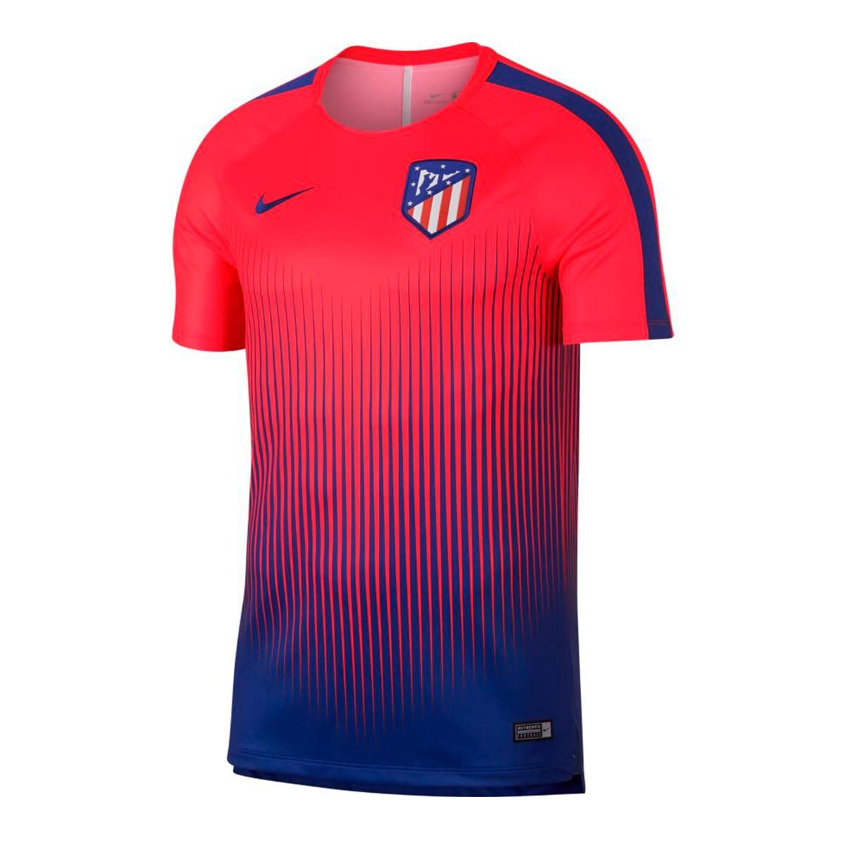 5f5f0f6710c86 Jersey Nike Atlético de Madrid Squad 2018-2019 Bright crimson-Deep ...