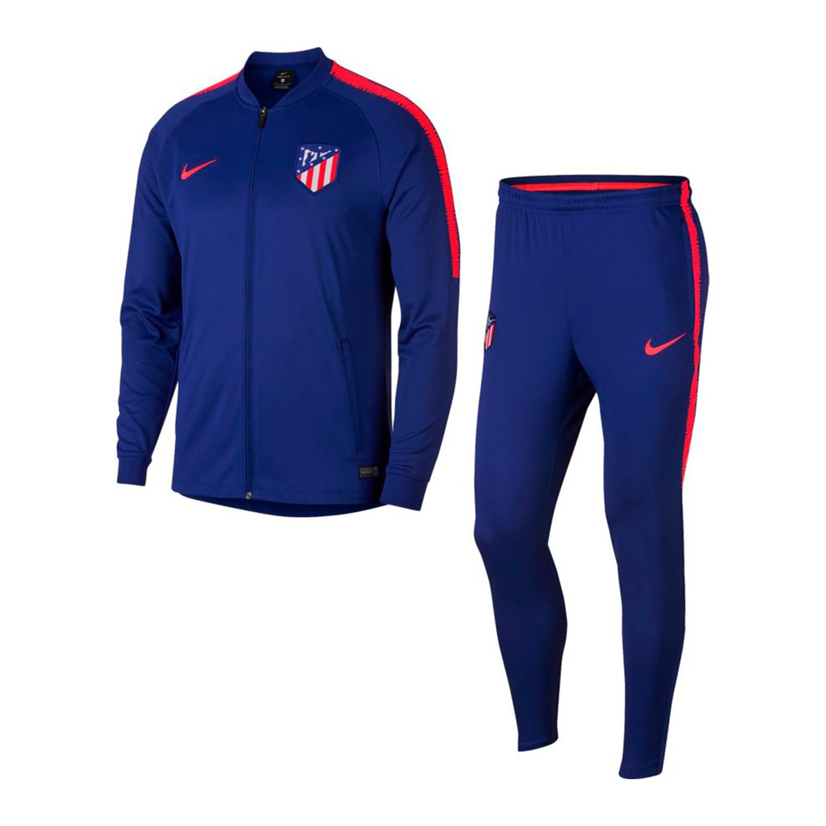 surv tement nike atl tico de madrid squad 2018 2019 deep royal blue bright crimson boutique de. Black Bedroom Furniture Sets. Home Design Ideas
