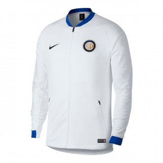 Jacket  Nike Inter Milan 2018-2019 White-Pure platinum-Black