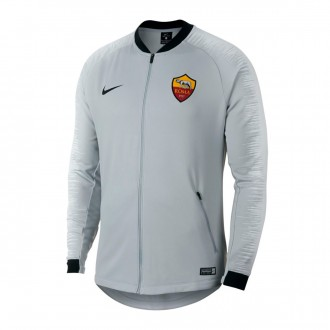 Chaqueta  Nike AS Roma 2018-2019 Wolf grey-Pure platinum-Black
