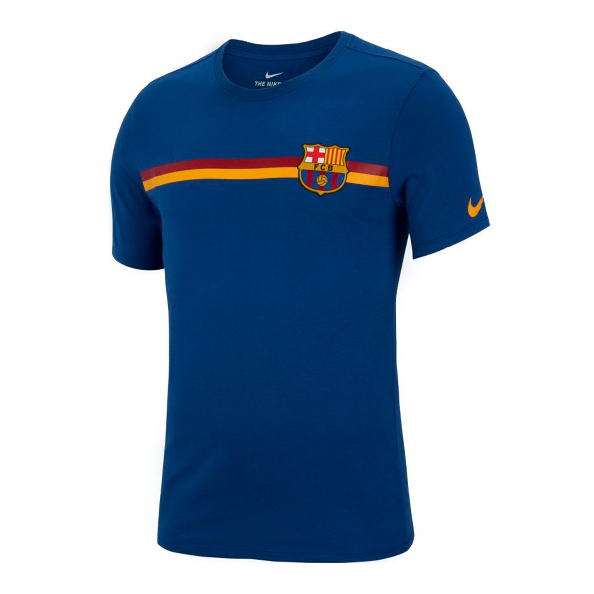 Jersey Nike FC Barcelona 2018-2019 Deep royal blue - Football store ... ea1a239a382